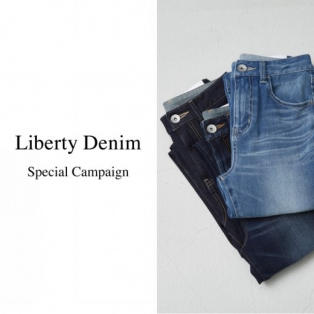4/6発売!Liberty Denim!