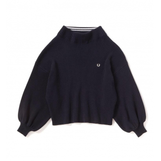W's 【BOAT NECK RIBBED SWEATER】