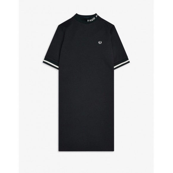 HIGH NECK FRED PERRY DRESS