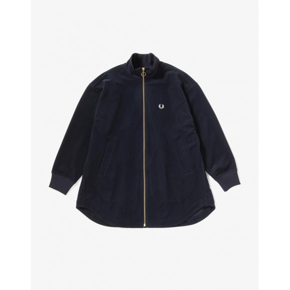 TRICOT CORD TRACK JACKET