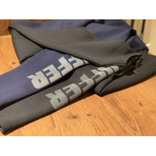 【BLACK LABEL DOUBLE-KNIT SWITCHING PANTS】