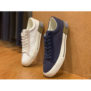 【CANVAS & LEATHER COURT SHOES】