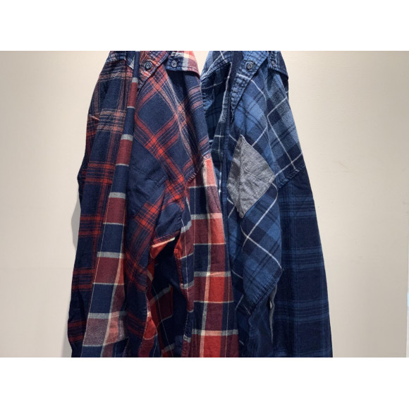 【INDIGO LABEL CRAZY INDIGO CHECK】