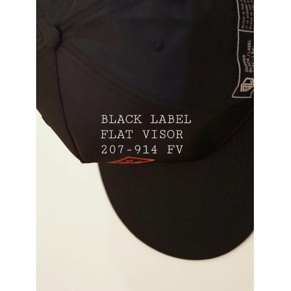 BLACK LABEL FLAT VISOR
