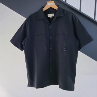 【BASE CAMP】オープンカラーシャツ
