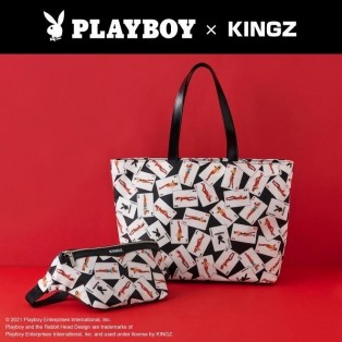 「PLAYBOY x KINGZ」コラボ!!