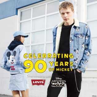 西館6F Levi's store〜ミッキーコラボ今日から発売です!!〜