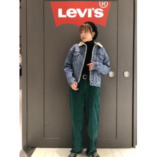 西館6F Levi's store〜Silver Tabの個性派カラーコーデ〜