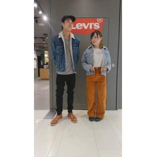 西館6F Levi's Store〜大人気!シェルパトラッカージャケット〜