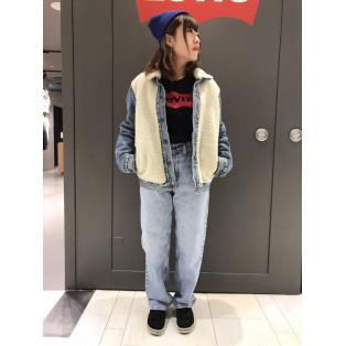 西館6F  Levis' Store〜デザイン性抜群!シェルパパネルトラッカージャケット~