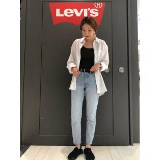 西館6F Levi's store ~レディース501スキニー新色入荷!~