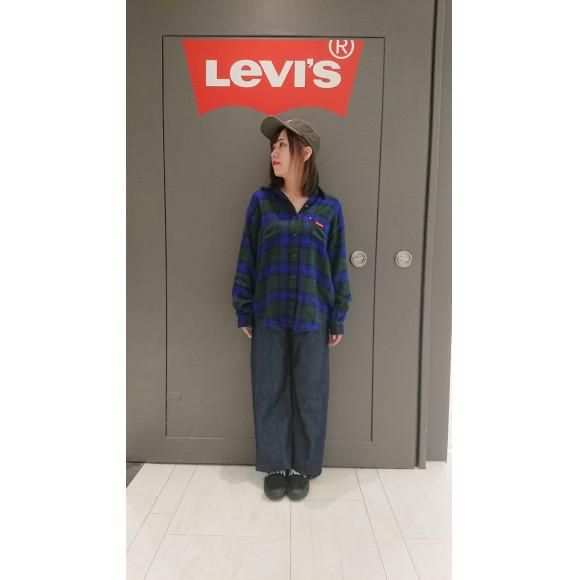 西館6F Levi's Store~太めのゆったりとしたパンツをお求めの方必見!RIBCAGEシリーズ~