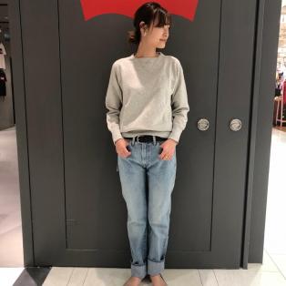西館6F Levi's store ~LVC505新作カラー~