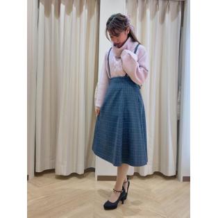 2way♡サスペンダー付きスカート