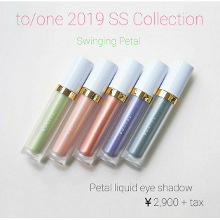 to/one 2019 SS Collection  本日より発売開始♪