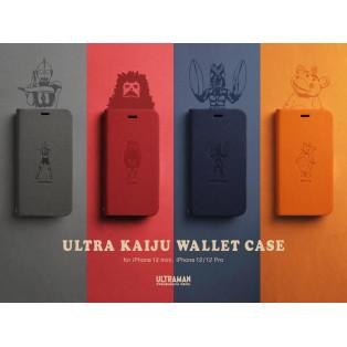 iPhone12シリーズ対応!ウルトラカイジュウウォレットケース!