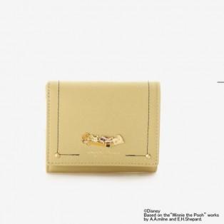【くまのプーさんコレクション】Lジップ折財布