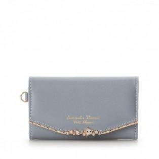 ハートジュエルバージップ型折財布再入荷致しました☆