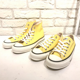 CONVERSE イエロー入荷!