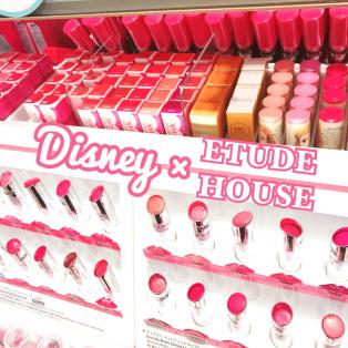 Disney Store×ETUDE HOUSEコラボリップ