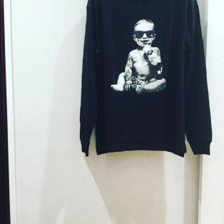 Starlean BABY ロングスリーブTシャツ ブラック系
