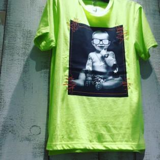 Starlean 3Dサングラス BABY Tシャツ グリーン