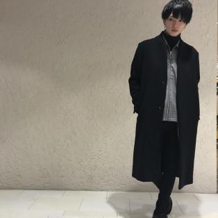 オーバーコートご紹介&コーディネート紹介!!【名古屋パルコ】
