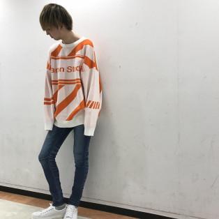 秋のカジュアルコーディネート!