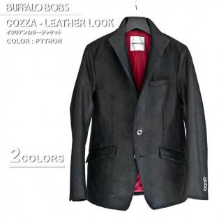 冬のグランドバザール2021 BUFFALO BOBS(バッファローボブズ)COZZA-LEATHER LOOK(コッザ レザールック)イタリアンカラー ジャケットです。