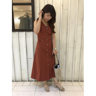UNRELISH☆チノタイトジャンパースカート