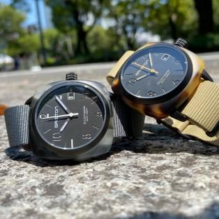 世界初、アセテートを使用した腕時計