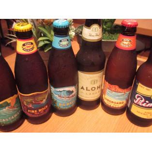 ハワイを感じられるビールご用意しております!