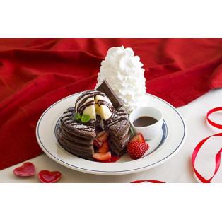 バレンタインパンケーキ