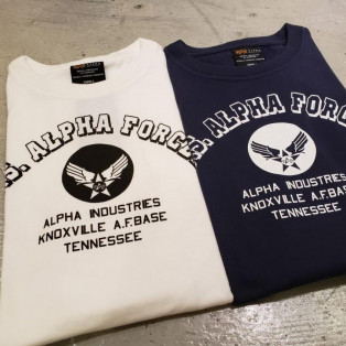S/S ALPHA PRINT Tee A-WING