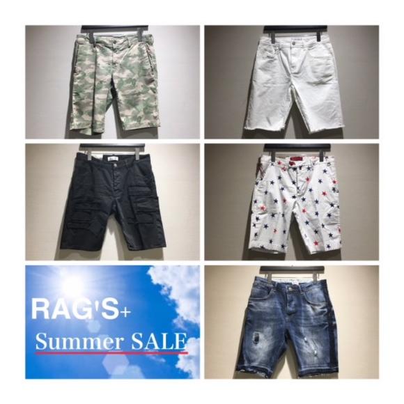 ★RAG'S+ Summer SALE ラスト1ショーツ!! ★