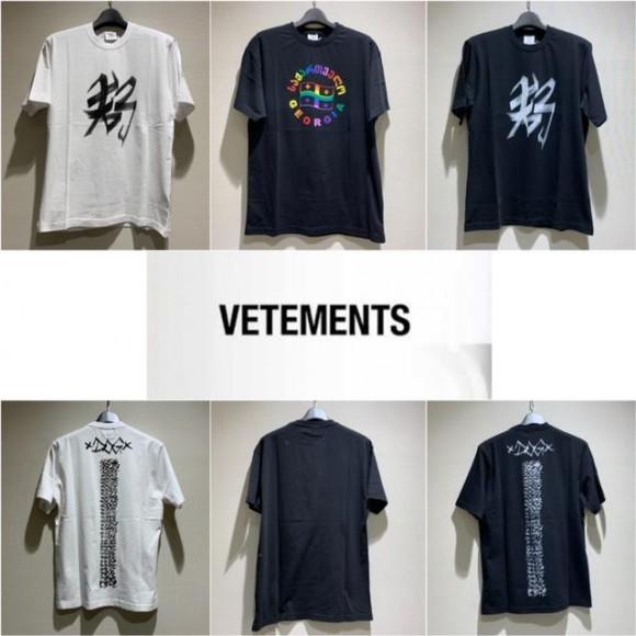 ★VETEMENTS 新作アイテム★
