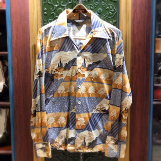 men's JC Penney Polyester Shirt