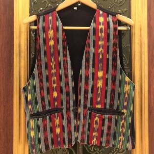 men's  Guatemala Embroidery Vest