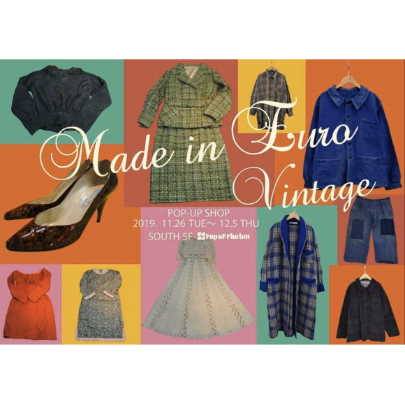 made in Euro vintage popup