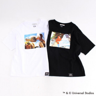 【予約】 E.T. Film Stills Print Tシャツ 【限定商品】