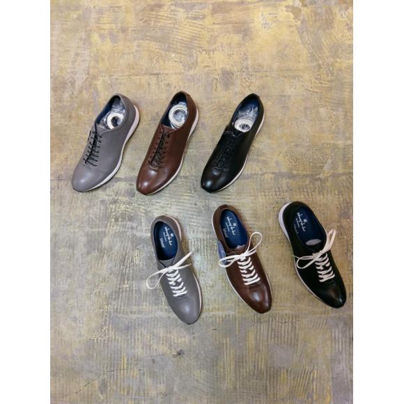 『FUN+WALK leather sneakers』