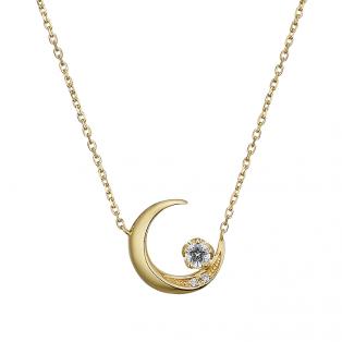 crescent moonlight