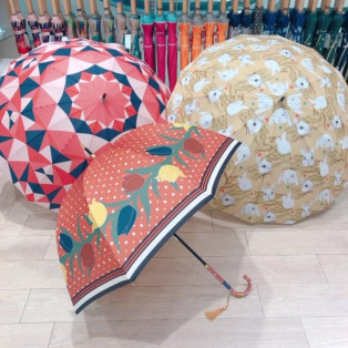 傘も秋色に♪