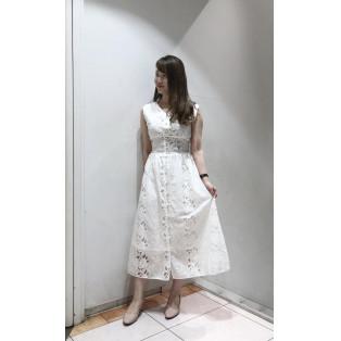 ♡カットワークレースドレス♡
