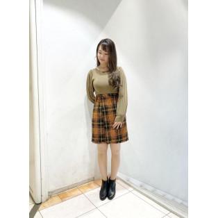 ♡ツイードチェックラップスカート♡