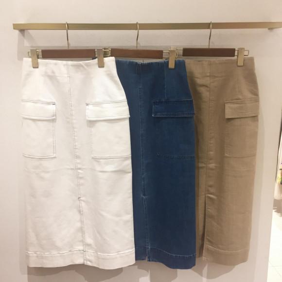デニムタイトスカート*セール