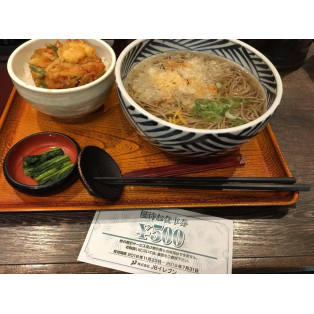 【トクメシ☆Part2】 ~おらが蕎麦編~