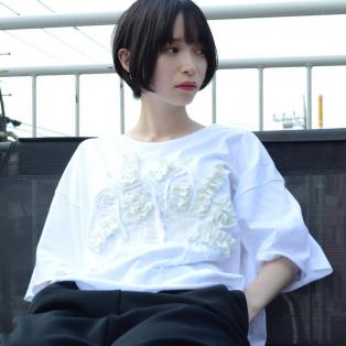 00〇〇 リボンTシャツ