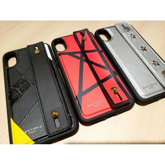 【新商品】iPhoneX/Xsベルト付きケースに新デザイン!2wayケースも仲間入り!