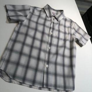 ☆オンブレチェック半袖シャツ☆